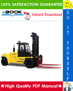 hyster h550hd, h550hds, h620hd, h650hd, h650hds, h700hd, h700hds (f008) high-capacity forklift trucks service repair manual