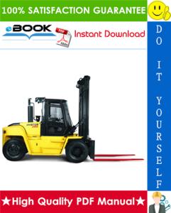 Hyster H13.00XM (H300HD), H14.00XM (H330HD), H16.00XM (H360HD), H12.00XM-12EC (H360HD-EC) [F019] Forklift Trucks Service Repair Manual | eBooks | Technical