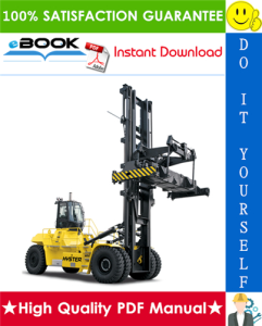 Hyster H1050HD-CH, H1150HD-CH (F117) Container Handlers Service Repair Manual | eBooks | Technical