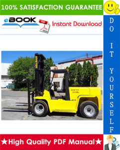 hyster h135xl, h155xl (g006) forklift trucks service repair manual