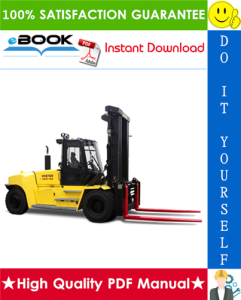 Hyster H550HD, H620HD, H650HD, H700HD, H550HDS, H650HDS, H700HDS (G008) High-Capacity Forklift Trucks Service Repair Manual | eBooks | Technical
