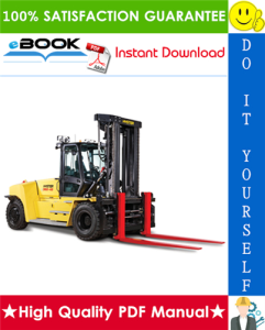 hyster h300hd, h330hd, h360hd, h360hd-12ec (g019) high-capacity forklift trucks service repair manual