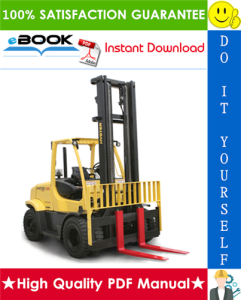 hyster fortis h135ft, h155ft (h006) pneumatic tires forklift trucks service repair manual