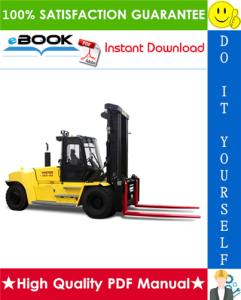 hyster h550hd, h650hd, h700hd, h550hds, h650hds, h700hds (h008) high-capacity forklift trucks service repair manual