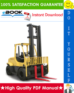 hyster fortis h135ft, h155ft (j006) pneumatic tire forklift trucks service repair manual