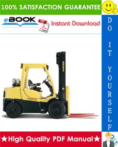 Hyster H70XM, H80XM, H90XM, H100XM, H110XM, H120XM (K005) Forklift Trucks Service Repair Manual | eBooks | Technical