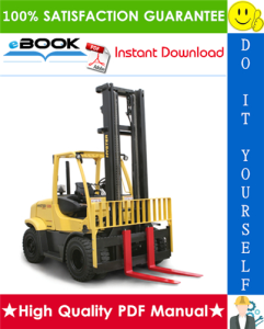 hyster h135ft, h155ft (k006) pneumatic tire forklift trucks service repair manual