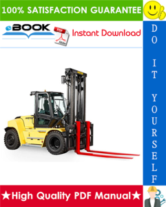 hyster h190hd2, h210hd2, h230hd2, h230hds2, h250hd2, h280hd2 (k007) heavy-duty forklift trucks service repair manual