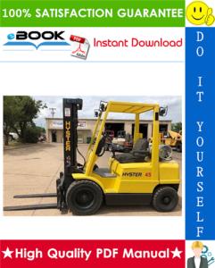 Hyster H45XM, H50XM, H55XM, H60XM, H65XM (K177) Forklift Trucks Service Repair Manual | eBooks | Technical
