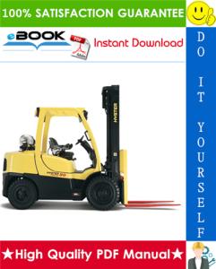 hyster fortis h80ft, h90ft, h100ft, h110ft, h120ft (n005) forklift trucks service repair manual