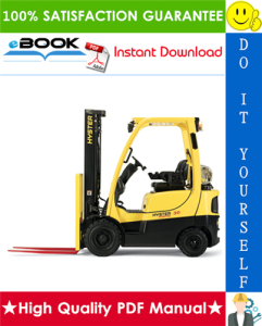 hyster h40ft, h50ft, h60ft, h70ft (n177) 4-wheel pneumatic tire lift trucks service repair manual