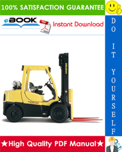 hyster fortis h80ft, h90ft, h100ft, h110ft, h120ft (p005) 4-wheel pneumatic tire lift trucks service repair manual