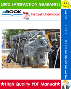 liebherr d904, d906, d914, d916, d924, d926 diesel engine technical manual