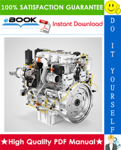 liebherr d934, d936 diesel engine service repair manual