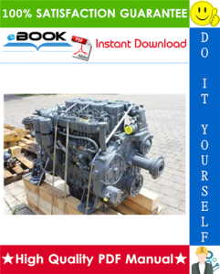 Liebherr D904, D906, D914, D916, D924, D926 Diesel Engines Service Repair Manual | eBooks | Technical
