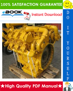 liebherr d9306, d9308, d9406, d9408 diesel engines service repair manual