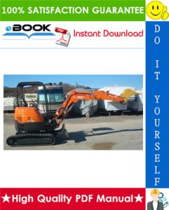 Hitachi ZAXIS 27U-2, 30U-2, 35U-2 Excavator Service Repair Manual   eBooks   Technical