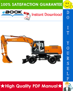 Hitachi ZAXIS 210W-3, ZAXIS 220W-3 Wheeled Excavator Service Repair Manual | eBooks | Technical