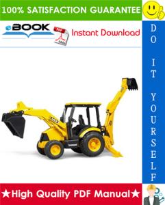 jcb mini cx backhoe loader service repair manual