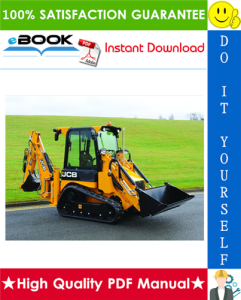 JCB 1CX, 208S Backhoe Loader Service Repair Manual | eBooks | Technical