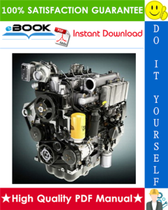 JCB Diesel 1000 Series Engine (AA-AH) Service Repair Manual | eBooks | Technical