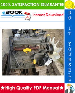 Isuzu A-4JG1 Model Industrial Diesel Engine Service Repair Manual | eBooks | Technical