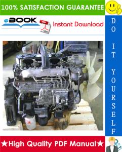 isuzu industrial diesel engine aa-4bg1t, aa-6bg1, bb-4bg1t, bb-6bg1t models service repair manual