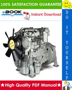 JCB Diesel 1100 Series Engine (RE - RG) Service Repair Manual | eBooks | Technical