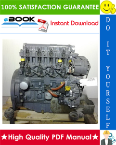 Deutz 2011 Engine Service Repair Manual | eBooks | Technical