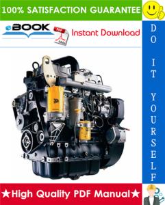 jcb dieselmax mechanical engine (sa-sc build) service repair manual