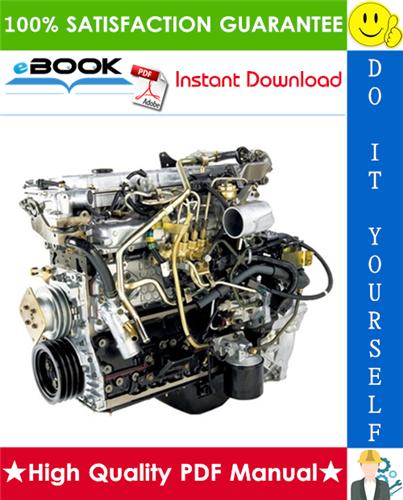Isuzu 4hk1  6hk1 Model Industrial Diesel Engine Service