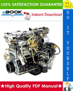 Isuzu 4HK1, 6HK1 Model Industrial Diesel Engine Service Repair Manual | eBooks | Technical