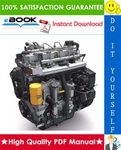 JCB Dieselmax Tier 3 SE Engine (SE Build) Service Repair Manual | eBooks | Technical