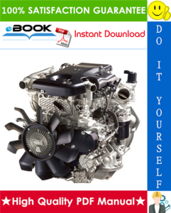 Isuzu A1-4JJ1 Model Industrial Diesel Engine Service Repair Manual | eBooks | Technical