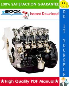 Isuzu Industrial Diesel Engine AU-4LE2, BV-4LE2 Model Service Repair Manual | eBooks | Technical