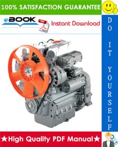 Lombardini CHD series Engine Service Repair Manual | eBooks | Technical