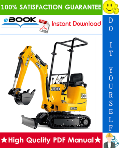 JCB Micro, Micro Plus, 8008, 8010 Excavator Service Repair Manual | eBooks | Technical