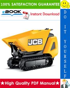 JCB TD7, TD10 Tracked Dumpster Service Repair Manual | eBooks | Technical