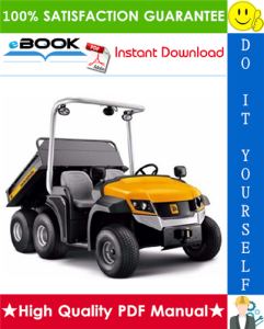 JCB Groundhog 6x4 Utility Vehicle Service Repair Manual | eBooks | Technical