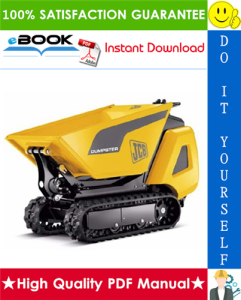 JCB HTD5 Tracked Dumpster Service Repair Manual | eBooks | Technical