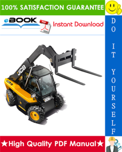 jcb 515-40 telescopic handler service repair manual