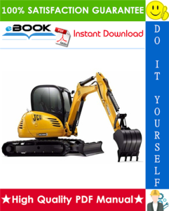 JCB 8052, 8060 Midi Excavator Service Repair Manual   eBooks   Technical