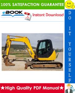 JCB 8080 Midi Excavator Service Repair Manual | eBooks | Technical
