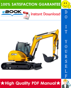 JCB 8085 Midi Excavator Service Repair Manual | eBooks | Technical