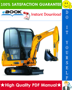 JCB 8013, 8015, 8017, 8018, 801 Gravemaster Mini Excavator Service Repair Manual | eBooks | Technical