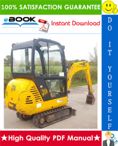 JCB 801.4, 801.5, 801.6 Mini Excavator Service Repair Manual | eBooks | Technical