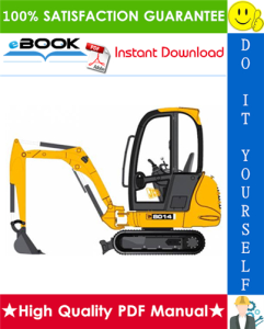 JCB 8014, 8016, 8018 Mini Excavator Service Repair Manual | eBooks | Technical