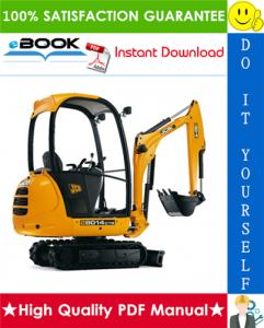 jcb 8014, 8016, 8018, 8020 mini excavator service repair manual