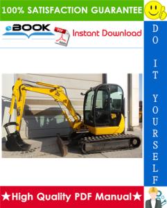 jcb 8040z, 8045z mini excavator service repair manual