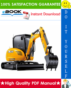 JCB 8025Z, 8030Z, 8035Z Mini Excavator Service Repair Manual | eBooks | Technical